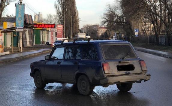 оказалось форд сбил пешехода на симферопольском шоссе этого мига