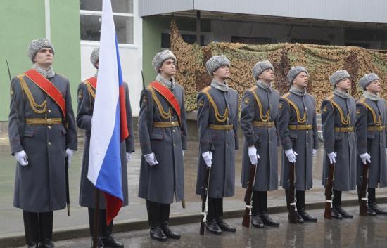 В Севастополе отпраздновали День морской пехоты (фото, видео)