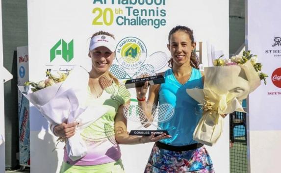 Алёна Фомина из Севастополя стала победительницей дубайского теннисного турнира ITF