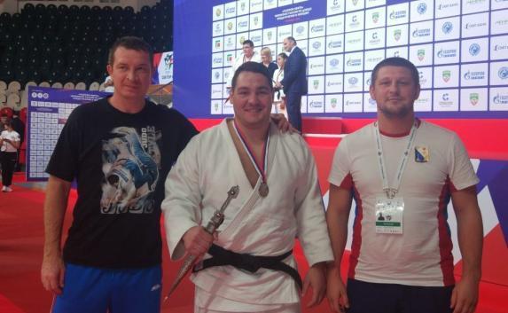 Севастополец стал вице-чемпионом страны по дзюдо