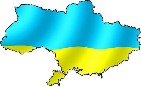 карту Украины без Крыма