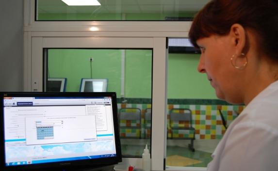Для больниц Крыма закупили компьютерную технику