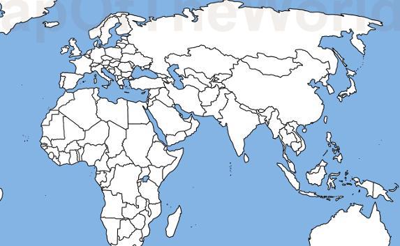 карта контурная скачать