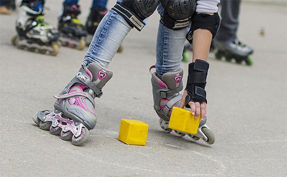 В Севастополе состоялся первый детский роллер-фестиваль