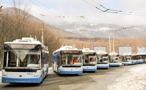 маршруты троллейбусов