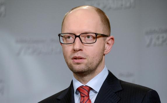 Украина потребует от России триллион долларов за Крым — Яценюк