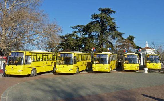Современные школьные автобусы доставлены в Севастополь