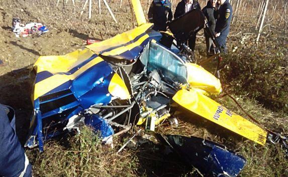 Вертолёт упал в Крыму — пассажиры погибли