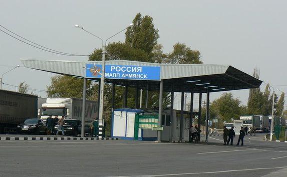 В январе в Крым пытались провезти боеприпасы четыре раза