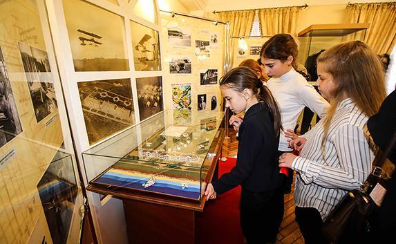 Открылась выставка «Севастополь — колыбель российской авиации»